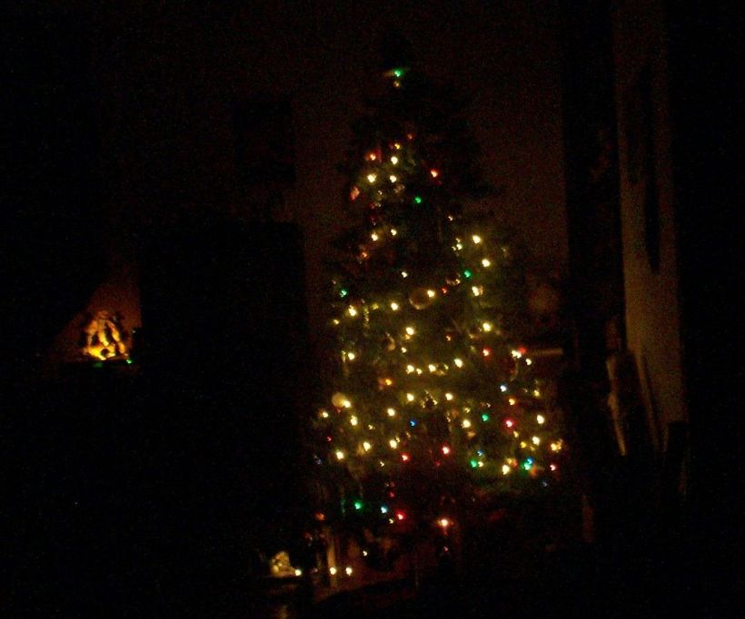Our Christmas Tree ~ On a Silent Night...