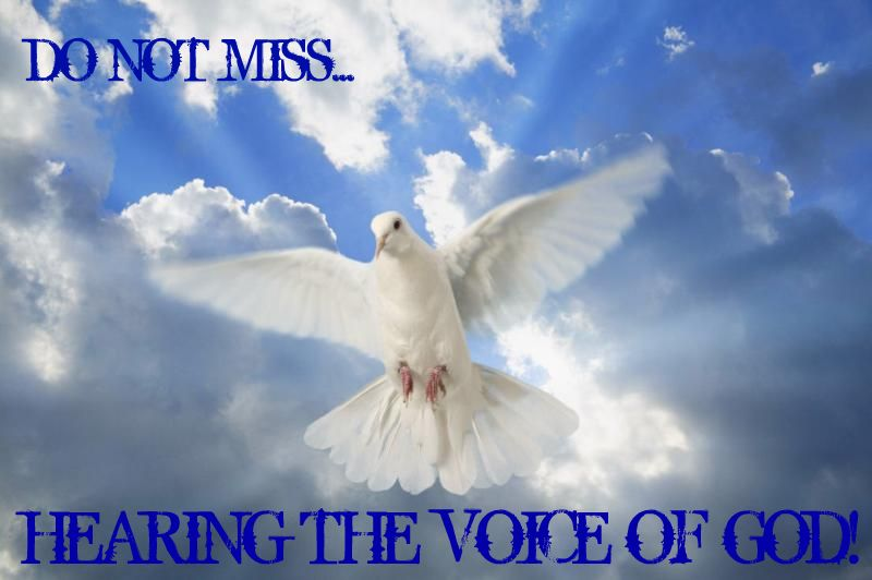Hearing the Voice of God...