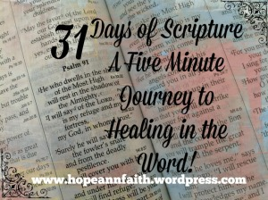 31 Days Journey to Healing