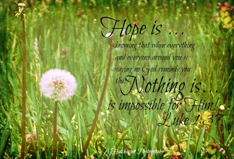 Nothing is Impossible in Him