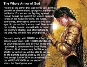 The Armor of God and Prayer